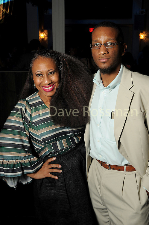 Bridgett Joe and Welby Goode at the Married to Medicine Houston premier party at VrSi Thursday Nov. 10, 2016.(Dave Rossman photo)