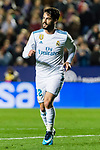 Isco Alarcon of Real Madrid celebrates after scoring his goal during the La Liga 2017-18 match between Levante UD and Real Madrid at Estadio Ciutat de Valencia on 03 February 2018 in Valencia, Spain. Photo by Maria Jose Segovia Carmona / Power Sport Images