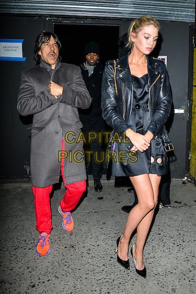 NEW YORK, NY - FEBRUARY 19: Anthony Kiedis at the Marc Jacobs fashion show in New York City on February 19, 2015. <br /> CAP/MPI/mpi67<br /> &copy;mpi67/MPI/Capital Pictures