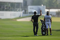 Ricardo Gouveia (POR) in action during the third round of the Volvo China Open played at Topwin Golf and Country Club, Huairou, Beijing, China 26-29 April 2018.<br /> 28/04/2018.<br /> Picture: Golffile | Phil Inglis<br /> <br /> <br /> All photo usage must carry mandatory copyright credit (&copy; Golffile | Phil Inglis)