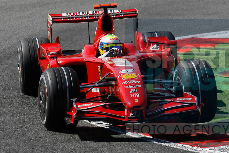 Filiipe Massa drives during qualifying at the Italian Grand Prix