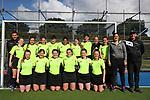 Umpires. Federation Cup Hockey Finals, Lloyd Elsmore Park, Auckland, New Zealand, Saturday September 2019. Photo: Simon Watts/www.bwmedia.co.nz/HockeyNZ