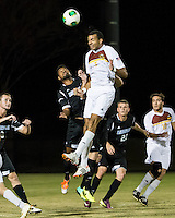 The Winthrop University Eagles beat the UNC Asheville Bulldogs 4-0 to clinch a spot in the Big South Championship tournament.  Achille Obougou (7), Emil Gonsalvez (7)