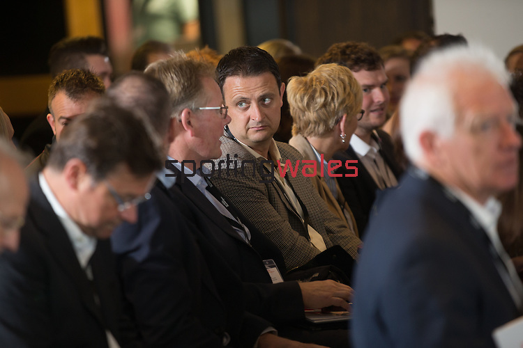 Sport Wales Conference 2016<br /> Principality Stadium<br /> 06.10.16<br /> Steve Pope ©Fotowales