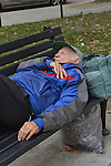 Washington DC. Just two blocks from The White House in Mc Phearson Park the homeless gather daily in search of shelter and food.Photo©Suzi Altman Washington DC. Just two blocks from The White House in Mc Pherson Park the homeless gather daily in search of shelter and food.Photo©Suzi Altman