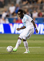 Michael Essien.  The MLS All-Stars defeated Chelsea, 3-2.