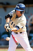 2 March 2008: Florida International second baseman Ryan Mollica (7) bats in the bottom of the sixth inning of the FIU 8-3 victory over Wagner  at University Park Stadium in Miami, Florida.