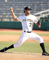 Brian Leach - Mesa Solar Sox - 2010 Arizona Fall League.Photo by:  Bill Mitchell/Four Seam Images..