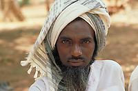 Portrait of Fulani beeder