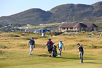 Declan Morgan playing with Fabrizio Zanotti (PAR) during the ProAm of the 2018 Dubai Duty Free Irish Open, Ballyliffin Golf Club, Ballyliffin, Co Donegal, Ireland.<br /> Picture: Golffile | Jenny Matthews<br /> <br /> <br /> All photo usage must carry mandatory copyright credit (&copy; Golffile | Jenny Matthews)