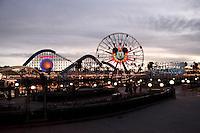 CALIFORNIA-ESTADOS UNIDOS. Parque Disney California Adventure uno de los sitios mas visitados por miles de turistas de todas partes del mundo. Photo: VizzorImage