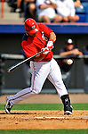 4 March 2011: Washington Nationals catcher Wilson Ramos in action during Spring Training action against the Atlanta Braves at Space Coast Stadium in Viera, Florida. The Braves defeated the Nationals 6-4 in Grapefruit League action. Mandatory Credit: Ed Wolfstein Photo