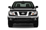 Straight front view of a 2013 Nissan Frontier Crew Cab SV 4wd2013 Nissan Frontier Crew Cab SV 4wd