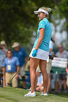 Lexi Thompson (USA) reacts to her putt on to 4 during round 4 of the 2019 US Women's Open, Charleston Country Club, Charleston, South Carolina,  USA. 6/2/2019.<br /> Picture: Golffile | Ken Murray<br /> <br /> All photo usage must carry mandatory copyright credit (© Golffile | Ken Murray)