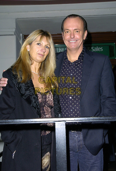 QUENTIN WILSON & GUEST.Arrivals at the Little Britain Gala Performance,.Carling Apollo Hammersmith Theatre, London, .England, November 22nd 2006..Half length .CAN/CAP.©Can Nguyen/Capital Pictures