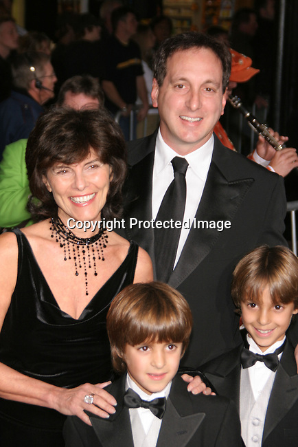 Adrienne Barbeau &amp; family<br />