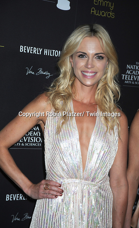 Kelly Sullivan attends the 39th Annual Daytime Emmy Awards on June 23, 2012 at the Beverly Hilton in Beverly Hills, California. The awards were broadcast on HLN.