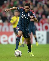 FUSSBALL   CHAMPIONS LEAGUE   SAISON 2013/2014   Vorrunde FC Bayern Muenchen - ZSKA Moskau       17.09.2013 Claudio Pizarro (FC Bayern Muenchen) Einzelaktion am Ball