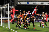 3rd October 2017, The Abbey Stadium, Cambridge, England; Football League Trophy Group stage, Cambridge United versus Southampton U21; Alfie Jones of Southampton scores and makes it 0-1