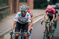 World Champion Alejandro Valverde (ESP/Movistar)<br /> <br /> 99th Milano - Torino 2018 (ITA)<br /> from Magenta to Superga: 200km