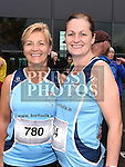 Liz Levins and Annie Nugent who took part in the SOSAD 5K run. Photo:Colin Bell/pressphotos.ie