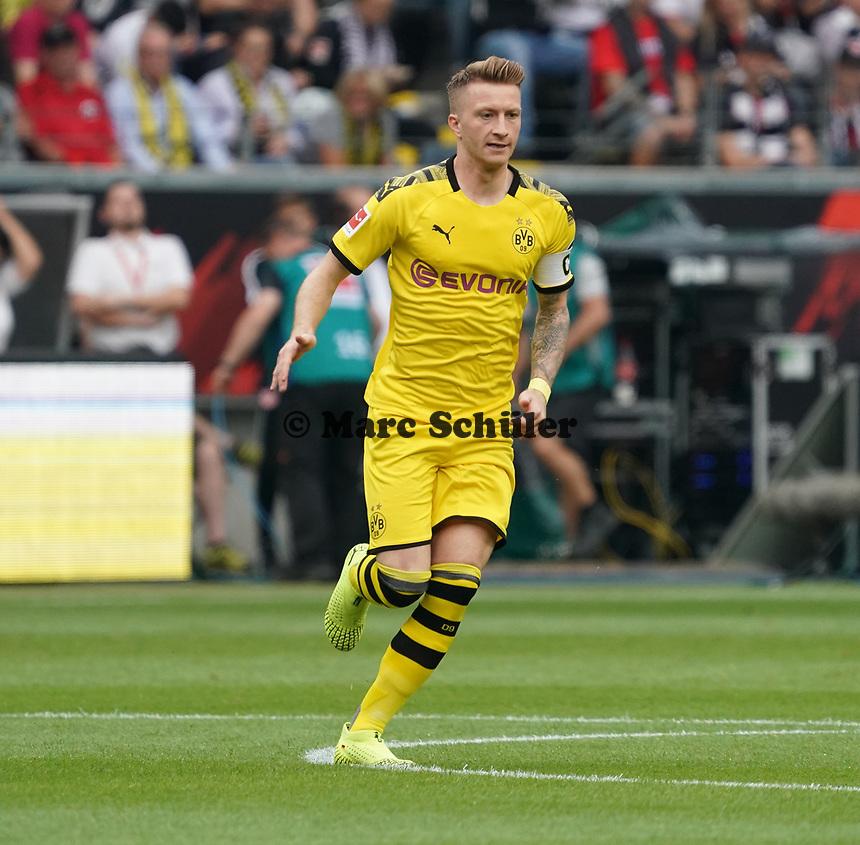 Marco Reus (Borussia Dortmund) - 22.09.2019: Eintracht Frankfurt vs. Borussia Dortmund, Commerzbank Arena, 5. Spieltag<br /> DISCLAIMER: DFL regulations prohibit any use of photographs as image sequences and/or quasi-video.