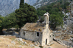 Church outside Kotor fortificaton