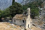 Church outside Kotor fortificaton