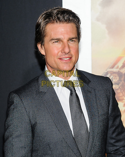 28 May 2014 - New York, New York- Tom Cruise. Tom Cruise arrives at the New York Premiere of &quot;Edge of Tomorrow&quot;.  <br /> CAP/ADM/MSA<br /> &copy;Mario Santoro/AdMedia/Capital Pictures