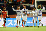 Ventforet Kofu team group,.APRIL 10, 2013 - Football / Soccer :.Akito Kawamoto #15 of Ventforet Kofu celebrates with his teammates after scoring their second goal during the 2013 J.League Yamazaki Nabisco Cup Group A match between Omiya Ardija 1-3 Ventforet Kofu at NACK5 Stadium Omiya in Saitama, Japan. (Photo by AFLO)
