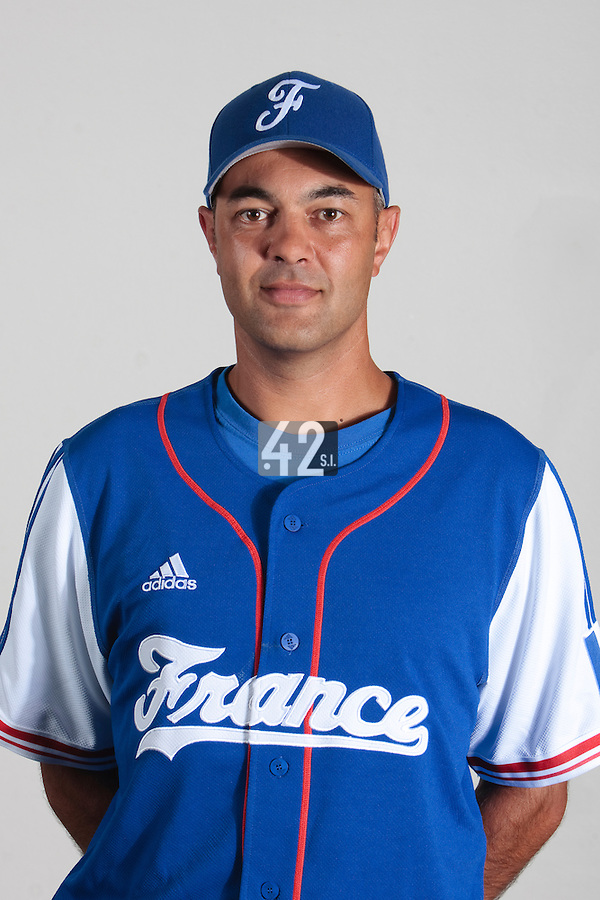 23 july 2010: Sylvain Virey poses prior to the 2010 European Championship Seniors, in Mulhouse, France.