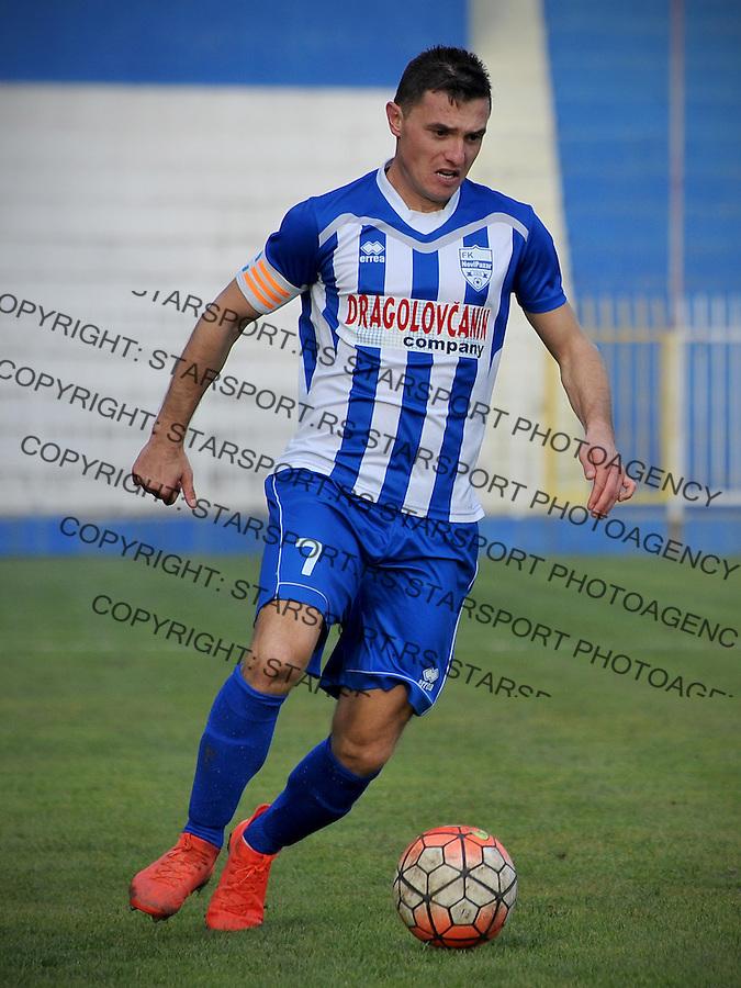 Fudbal Jelen Super League season 2016-2017<br /> Novi Pazar v Javor<br /> Enver Alivodic<br /> Novi Pazar, 26. 11. 2016<br /> foto: Emir Sadovic/Starsportphoto &copy;