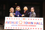 """Avenue Q"" hosts a Town Hall with Clinton & Trump Puppets"