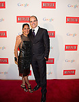 WASHINGTON, DC - MAY 2: Sakina Jaffrey and Michael Kelly attending the Google and Netflix party to celebrate White House Correspondents' Dinner on May 2, 2014 in Washington, DC. Photo Credit: Morris Melvin / Retna Ltd.