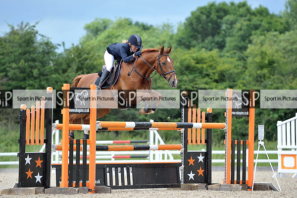 Class 6. British showjumping seniors. Brook Farm training centre. Essex. 04/06/2017. MANDATORY Credit Garry Bowden/Sportinpictures - NO UNAUTHORISED USE - 07837 394578