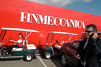 - chalet of the Italian company Finmeccanica ....- chalet della ditta italiana Finmeccanica