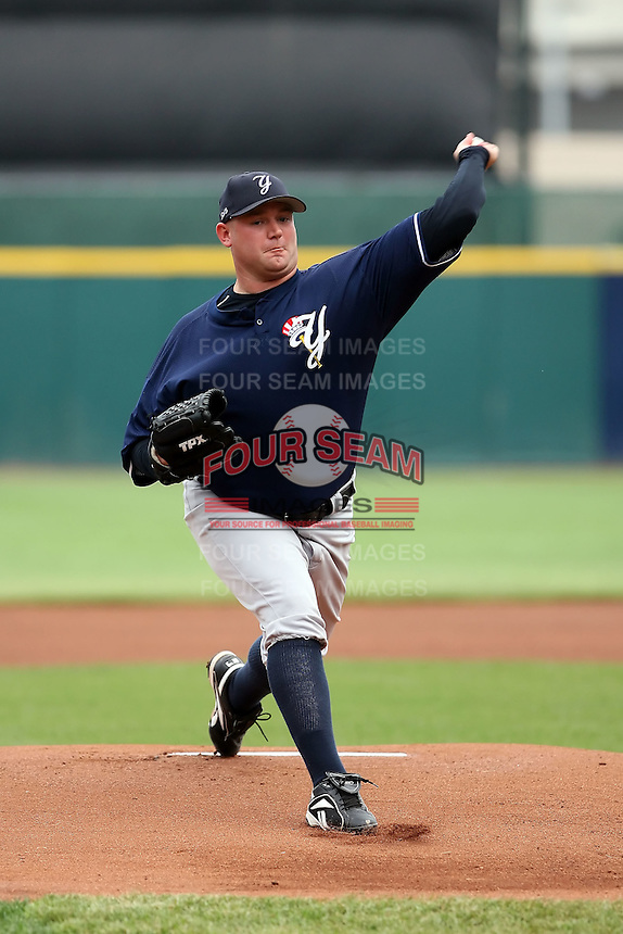 June 28th 2008:  Heath Phillips of the Scranton Wilkes-Barre Yankees, Class-AAA affiliate of the New York Yankees, during a game at Dunn Tire Park in Buffalo, NY.  Photo by:  Mike Janes/Four Seam Images