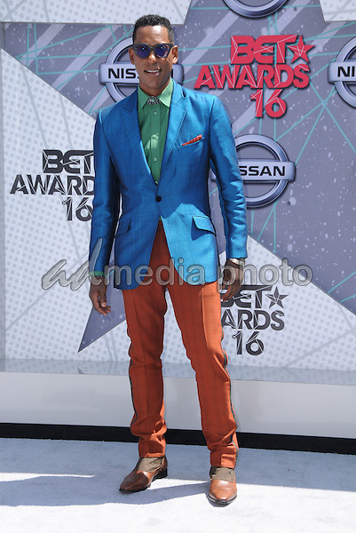 26 June 2016 - Los Angeles. Orlando Jones. Arrivals for the 2016 BET Awards held at the Microsoft Theater. Photo Credit: Birdie Thompson/AdMedia