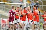 Scartaglin v Brosna in the Castleisland Mart Novice Club Championship Final at Fitzgerald Stadium on Sunday.