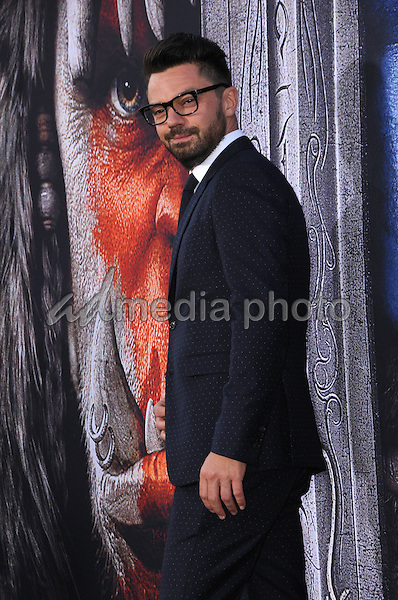 """06 June 2016 - Hollywood, California - Dominic Cooper. Arrivals for the Premiere Of Legendary Pictures and Universal Pictures' """"Warcraft"""" held at the TCL Chinese Theater IMAX. Photo Credit: Birdie Thompson/AdMedia"""