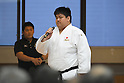 Kento Masaki (JPN), <br /> JULY 27, 2016 - Judo : <br /> Japan national team Send-off Party for Rio Olympic Games 2016 <br /> &amp; Paralympic Games <br /> at Kodokan, Tokyo, Japan. <br /> (Photo by AFLO SPORT)