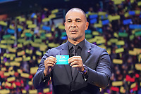 Ruud Gullit hat Polen gezogen - 30.11.2019: UEFA EURO2020 Auslosung, Romexpo Bukarest, DISCLAIMER: UEFA regulations prohibit any use of photographs as image sequences and/or quasi-video.