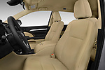 Front seat view of 2017 Toyota Highlander LE-Plus 5 Door SUV Front Seat  car photos