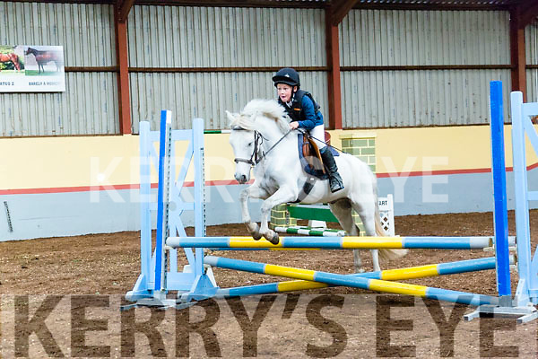 Kids showjumping showcase at Ballyard Kennedy Equine Centre on Sunday. Pictured Christian  Kennedy with pepper
