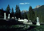 Cemetery in Silverton