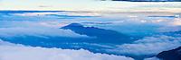 Corazon Volcano (4,790m), seen from Cotopaxi Vocano, Cotopaxi National Park, Ecuador