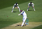 1st December 2017, Basin Reserve, Wellington, New Zealand; International Test Cricket, Day 1, New Zealand versus West Indies;  Shannon Gabriel hits a boundary