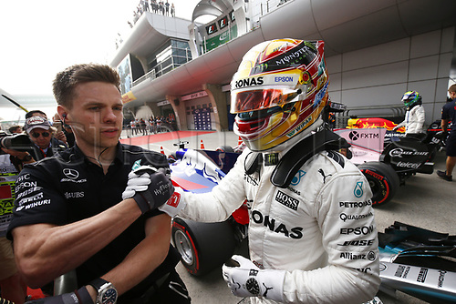 8th April 2017, Shanghai Circuit, Shanghai, China; Chinese Grand Prix Qualifying;  <br />