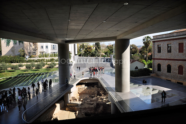 New Acropolis Museum, Athens.copyright: Magali Corouge / Documentography.Athenes, march 2010.