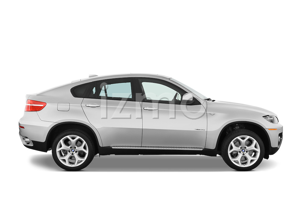 Passenger side profile view of a 2008 BMW X6 Sports Activity Vehicle.